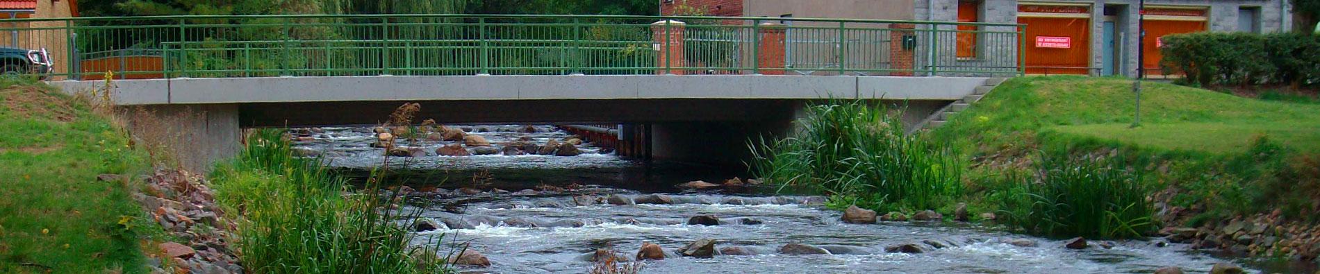 Slider Brückenbau